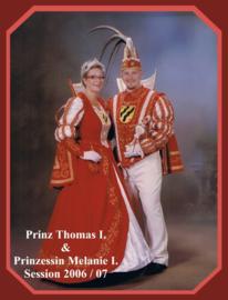 Prinz Thomas I. & Prinzzessin Melanie I.
